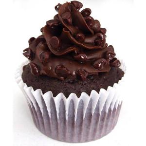 cupcakes, Ms K Cupcakes- Triple chocolate icing cupcake