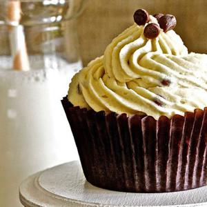The Sugar Goddess- Chocolate brownie cupcake