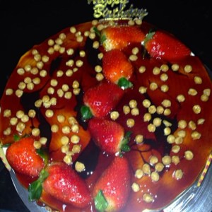 Cookies- Strawberry Caramel Butterscotch Birthday Cake