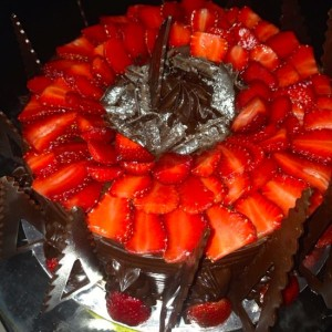 Cookies- Strawberry Chocolate Mousse Cake