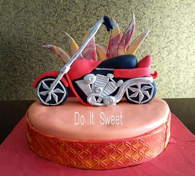 Do It Sweet Bike Cake