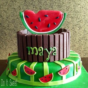 Do-It-Sweet-Watermelon-Theme-Cake