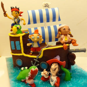 Paaliz Cake Art, BTM Layout, pirate theme cake