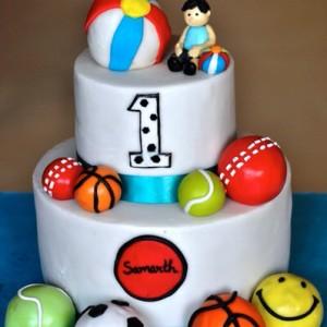 Sweet Petal Cakes- Sports theme cake