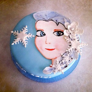 Pumpkin Baker- Frozen theme Birthday Cake