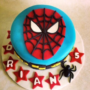 Pumpkin Baker- Spiderman theme Birthday Cake