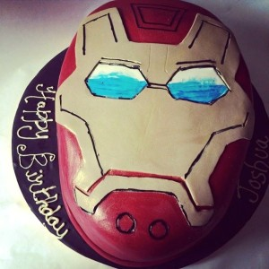 Pumpkin Baker- Ironaman Transformers Birthday Cake