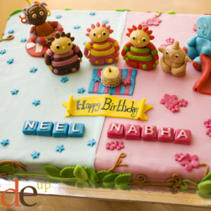 Butter Side Up- Iggle Piggle In the night garden theme birthday cake