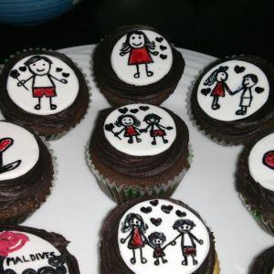 Battered Up- Family festival cupcake