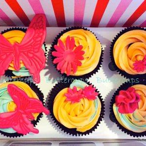 Buttercups- Garden theme cupcake