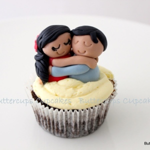 Buttercups- Love theme Valentine cakes cupcakes