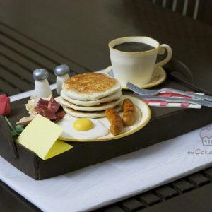 The Cake Butik- Breakfast themed cake