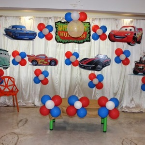 birthday party venues, Kydzadda, Banashankari, car theme party