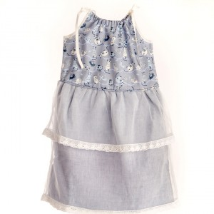 Liz Jacob Cute Kitten Dress