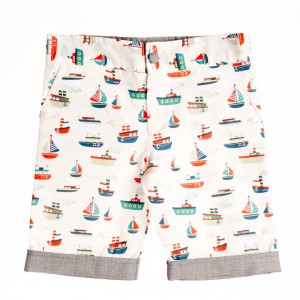 Liz Jacob Sail Boat Shorts