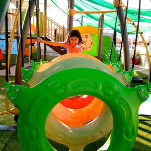 birthday party venues, PlayGym, Kalyan Nagar, tyre fun
