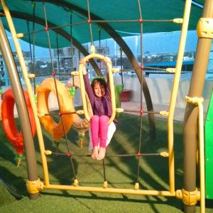 birthday party venues, PlayGym, Kalyan Nagar, kids swing