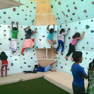 birthday party venues, PlayGym, Kalyan Nagar, wall climbing, play areas