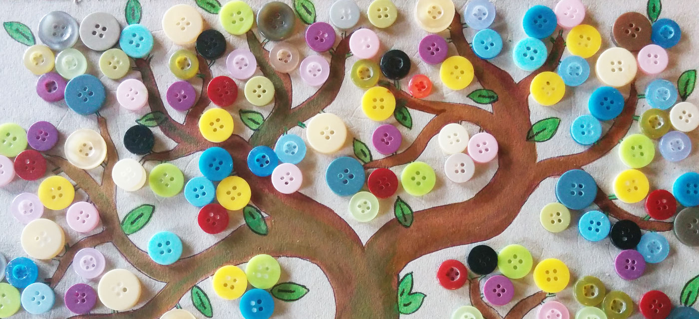DIY for kids – How to make a button tree right at home Cover Image