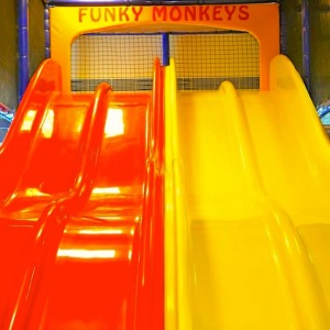 birthday party venues, Funky Monkey, M.G. Road, Slide, play areas