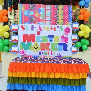HourGlass, kids birthday party planners in bangalore, Treat table