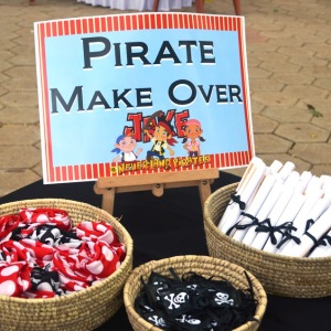 HourGlass, kids birthday party planners in bangalore, Pirate Theme Treats