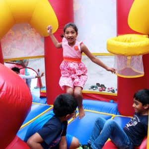 birthday party planners in bangalore, Jumporee, bouncy