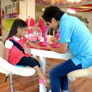 Divas & Dudes, kids salon, services