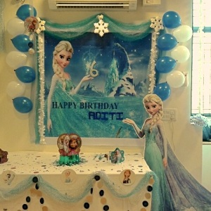 birthday party venues, Magic Threads, Koramangala, party hall, frozen theme
