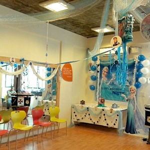 birthday party venues, Magic Threads, Koramangala, party venue , frozen