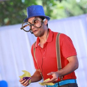 Sharan Kuttappa, Magician, Magic Beyond Belief, Bangalore performs comedy magic that will make you laugh and provide entertainment for your kids birthday. party, Balloon Artist, Puppet show, magic show