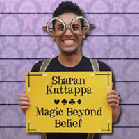 Sharan Kuttappa, Magic Beyond Belief, Magician, Bangalore-Logo