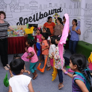 Spellbound Kid's Bookstore- Story telling and book reading