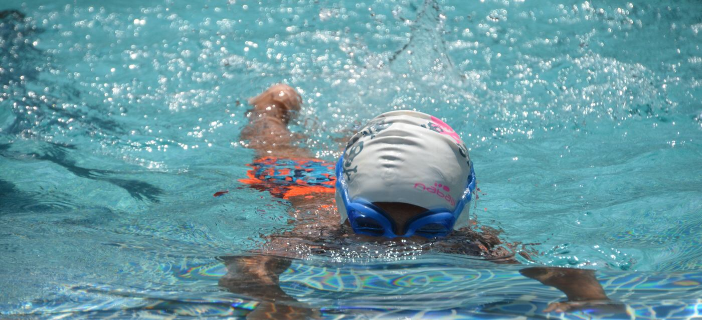 Nisha Millet on getting your child started with swimming Cover Image