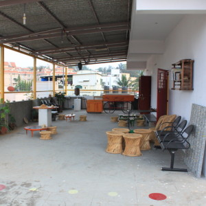 birthday party venues, Kavade Attic, Seshadripuram, outdoors