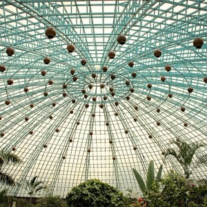 Bannerghatta National Park -Butterfly Park - sky view