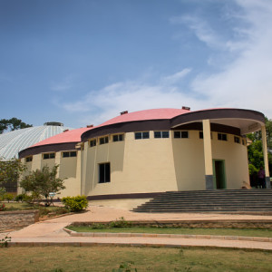 Bannerghatta National Park - Butterfly Park - main building
