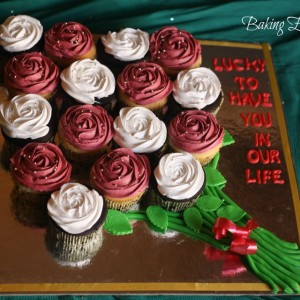 Baking Express- Custom Designer Cupcake Bouquet