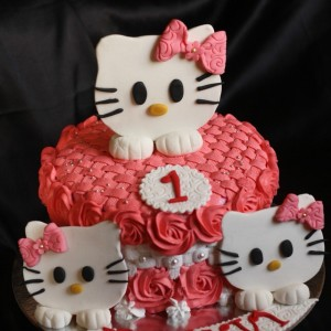 Baking Express- Hello Kitty Birthday Cake
