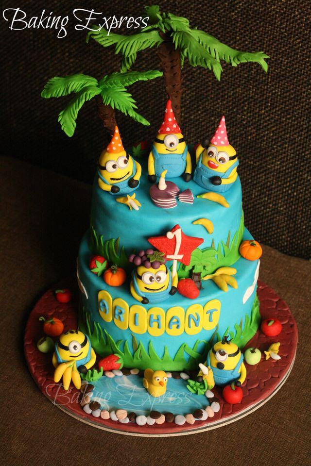 Vegan Customized Birthday Cake Delivery