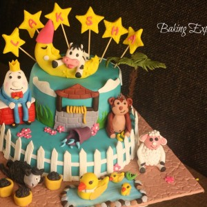 Baking Express- Nursery Rhyme Birthday Cake