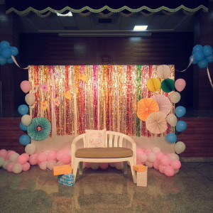 Kids Birthday Party Planners In Bangalore SprinklesandStreamers Backdrop