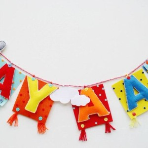 kids birthday party planners in bangalore, Sprinkles and Streamers, happy birthday banner