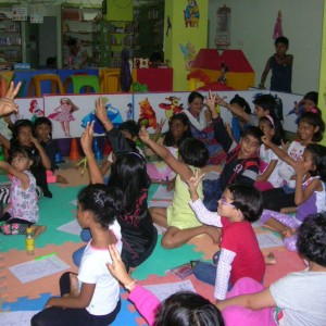 ThinkBox Library - Book Library for Kids Children arts and crafts workshop activity centre