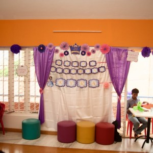 birthday party venues, The Caterpillar Trail, Hebbal, play area