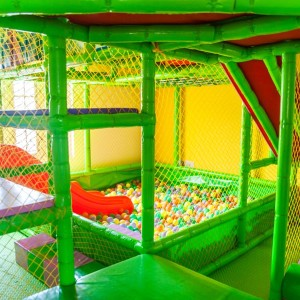 The Caterpillar Trail, Hebbal, ball pool, play areas