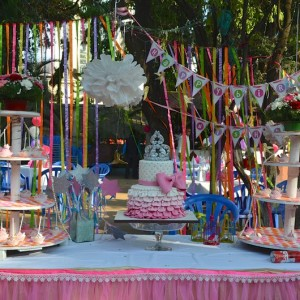 kids birthday party planners in bangalore, Cerebrum, Pink & barbie theme party