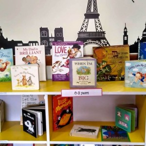 Book collection at My Little Chatter Box