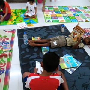 Kids playing at My Little Chatter Box