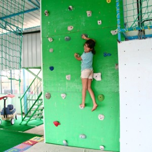 PlayGym Adventure Wall Climbing